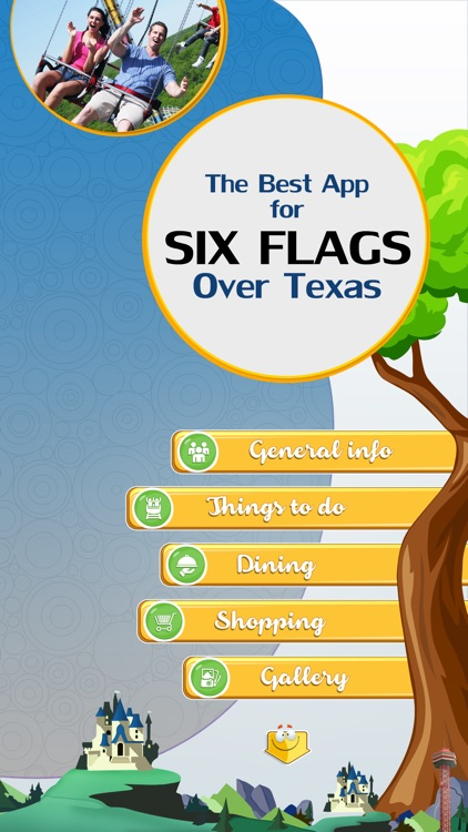 The Best App for Six Flags Over Texas screenshot-1