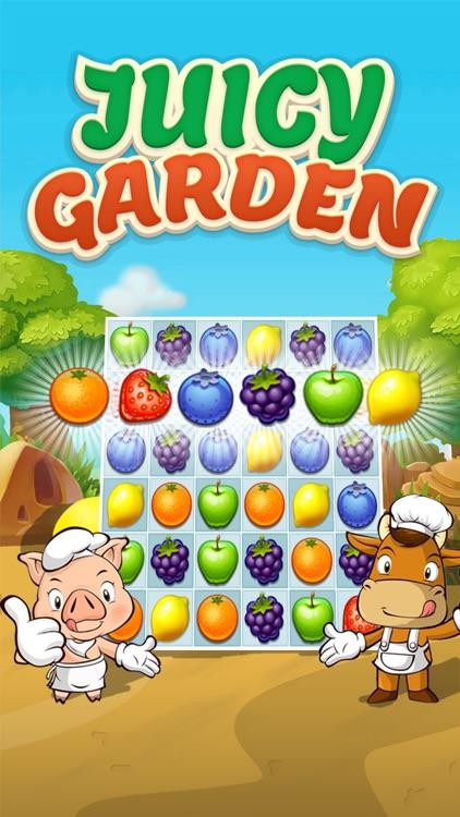 Juice Taste Fever - Garden Drop Puzzle screenshot-4