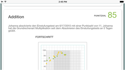 Screenshot for XtraMath in Germany App Store