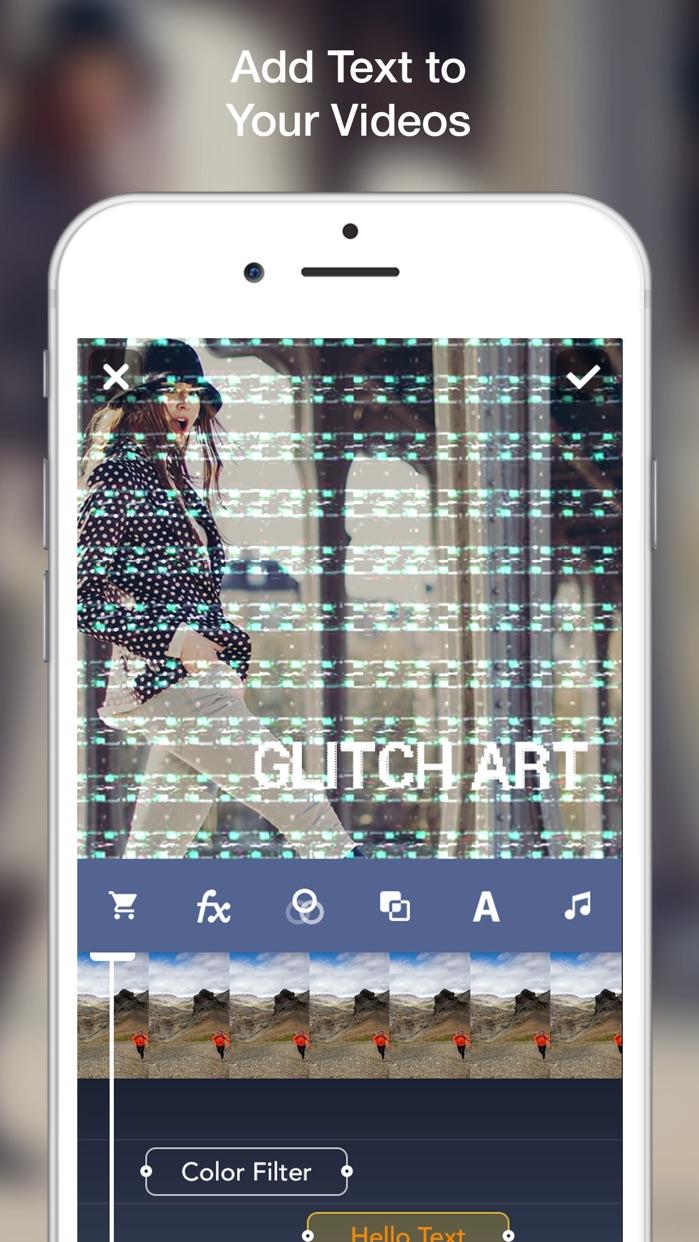 Glitch Art- Video Effects Edit Screenshot
