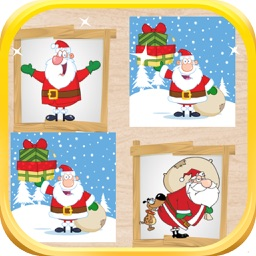 Santa Memory Games For Kids And Toddlers
