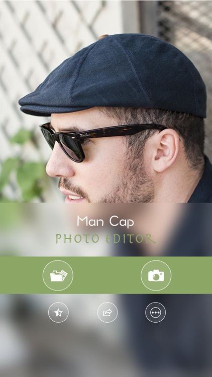 Man Cap Photo Editor