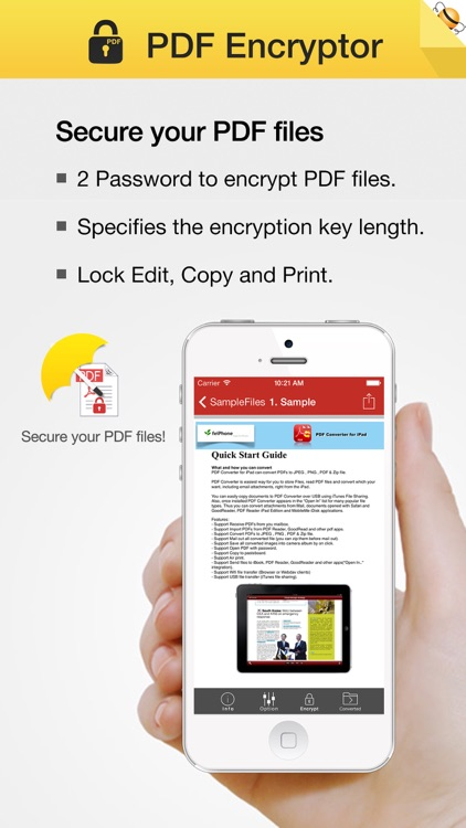PDF Encryptor screenshot-0