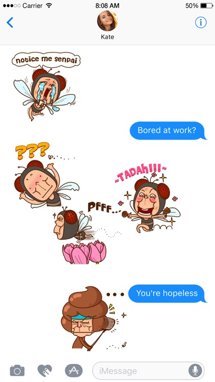 Skippy & Brownie stickers screenshot-1