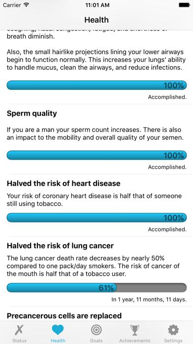 Quit It - stop smoking today screenshot two