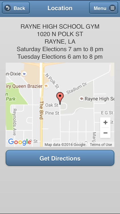 GeauxVote Mobile screenshot-3