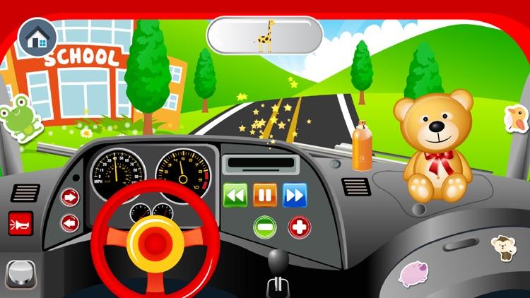 Baby School Bus - Drive Pretend Play Babies Games