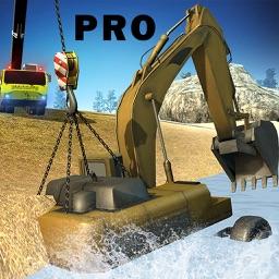 Stuck Excavator: Crane Rescue Pro