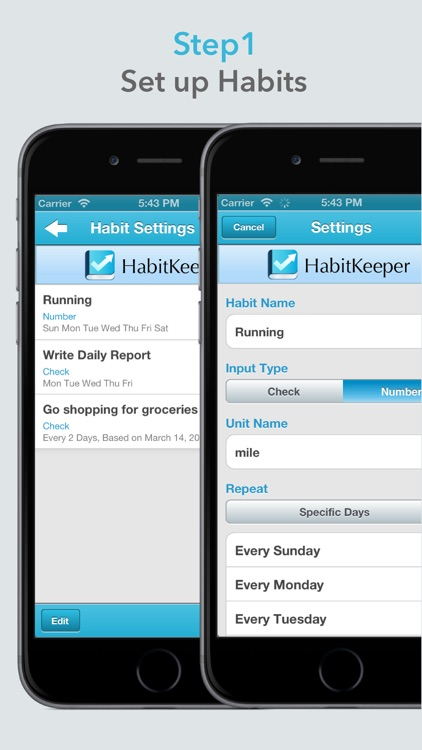Habit Keeper - Habits Tracker