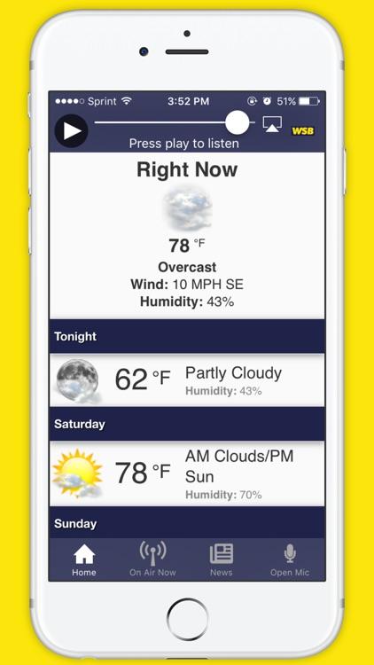 News 95-5 and AM 750 WSB screenshot-4