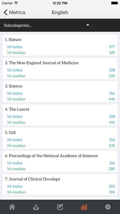 GoScholar for Google Scholar: Download Article App screenshot-3