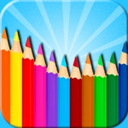Kids Coloring  Book - Doodle Pad 2in1