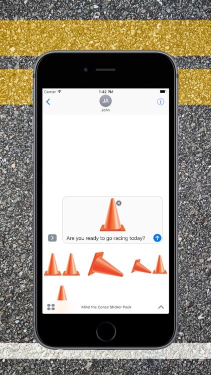 Mind the Cones Sticker Pack screenshot-3