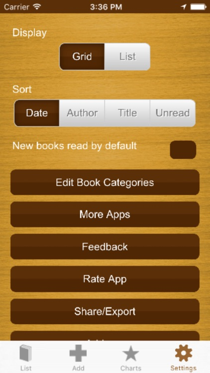 My Book List - ISBN scanner to create your library screenshot-4