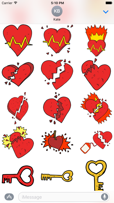 Hearts! The DoodleBomb Collection screenshot three