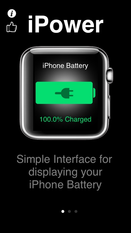 iPower - Glance Battery Usage On Watch screenshot-3