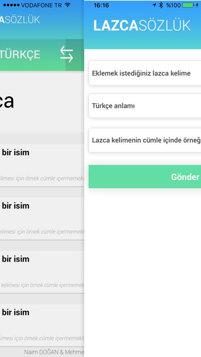 Lazca Sözlük screenshot two