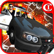 Crazy Cop-Chase&Smash 3D