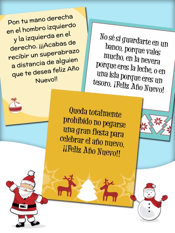 screenshot 3 for xmas new year funny messages in spanish