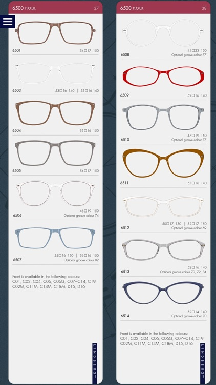 LINDBERG Collection Guide