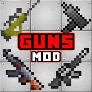 GUNS MODS for Minecraft PC Edition - Mods Tools app