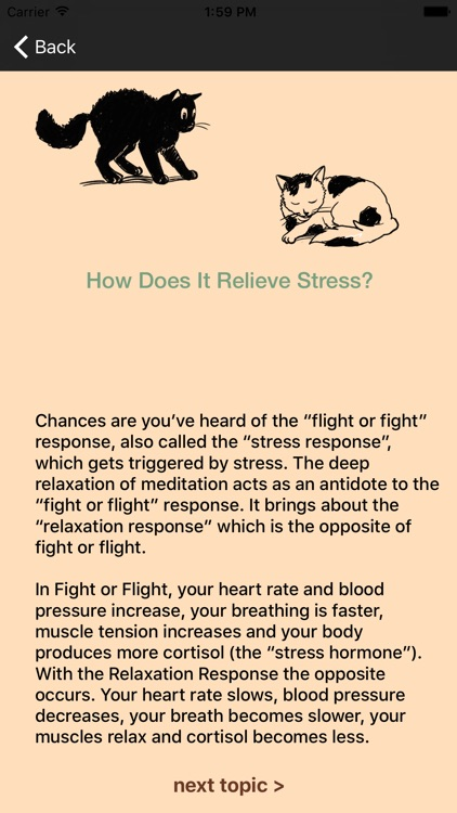 Meditation Rx - Relief for Patients & Families screenshot-4