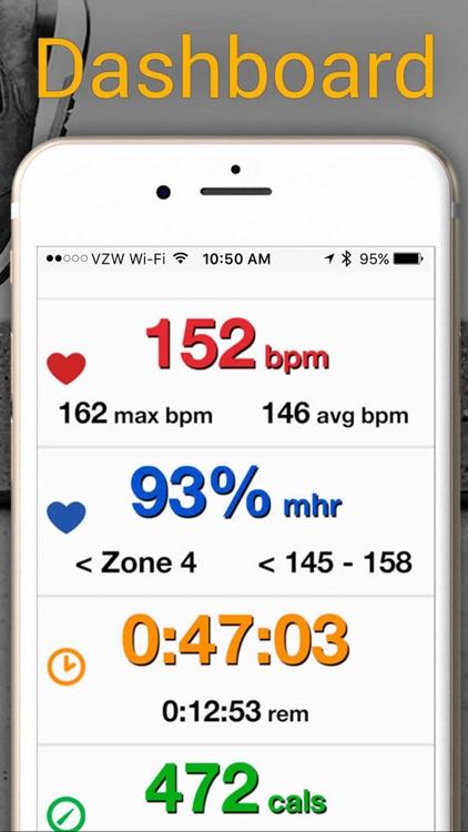 iRunner Run Tracker & Heart Rate Trainer screenshot-4