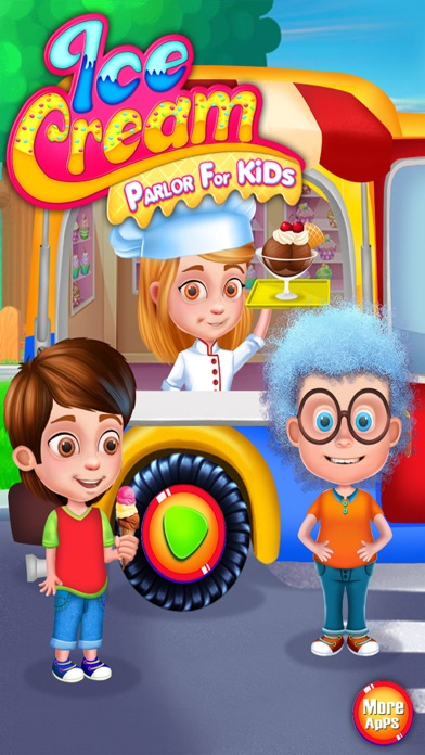 Ice Cream Parlor for Kids screenshot one