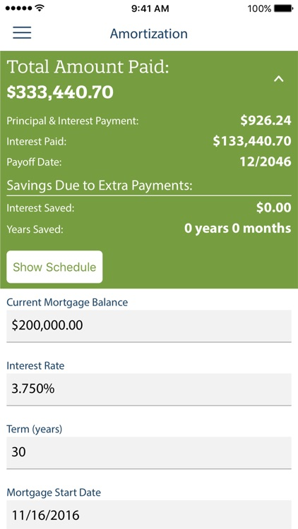 Mortgage Calculator by Quicken Loans screenshot-3
