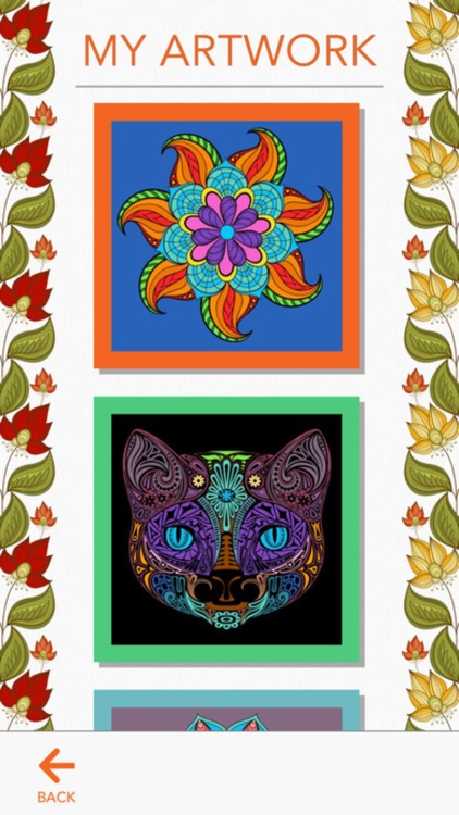 Coloring Book -  for Adults and Girls Paint Sketch