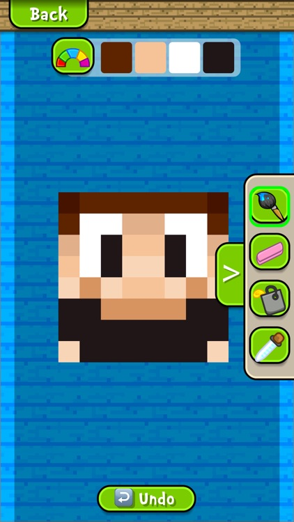 Skin craft for minecraft skins boy girl skins by dv for Create and craft app