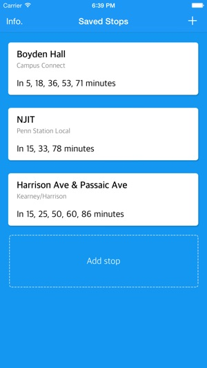 Nextbus NJIT and Rutgers on the App Store