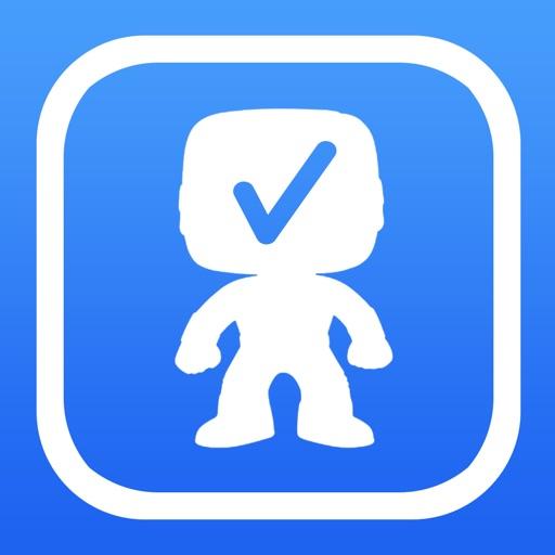 Vinyl Figure Toy Checklist for POP! Dorbz Nodniks iOS App