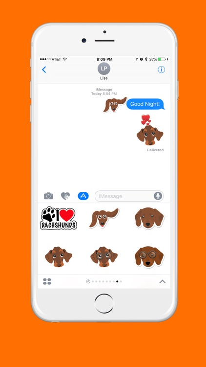 Dachshund Emoji screenshot-0