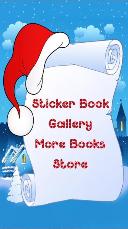 Christmas Sticker Book! screenshot-3