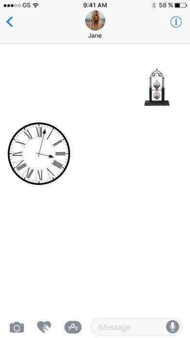 Uhr zwei Stickerpack!Screenshot von 3