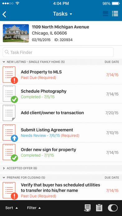 DocuSign Transaction Rooms screenshot three