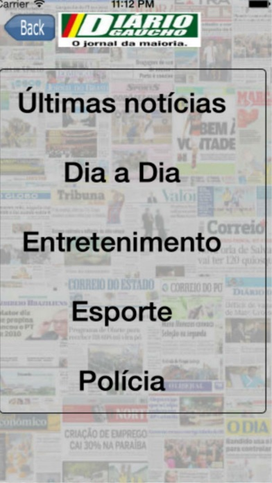 Entre Notícias Brasil screenshot one