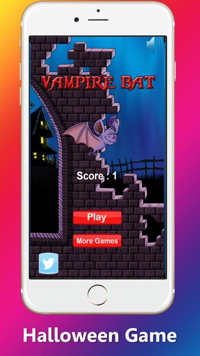 Bloody Vampire Bat Flappy go don Dracula House