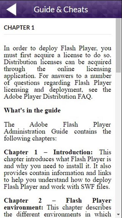 App Guide for Adobe Flash Player 21 screenshot-3