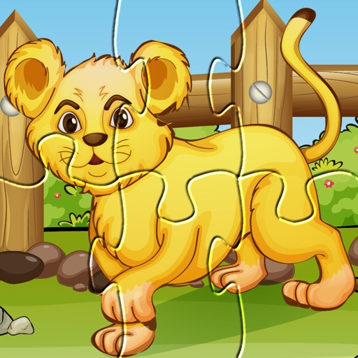 Animal Games: Wild & Zoo Animals Puzzles for kids iOS App