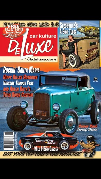 Car Kulture Deluxe Magazine screenshot one
