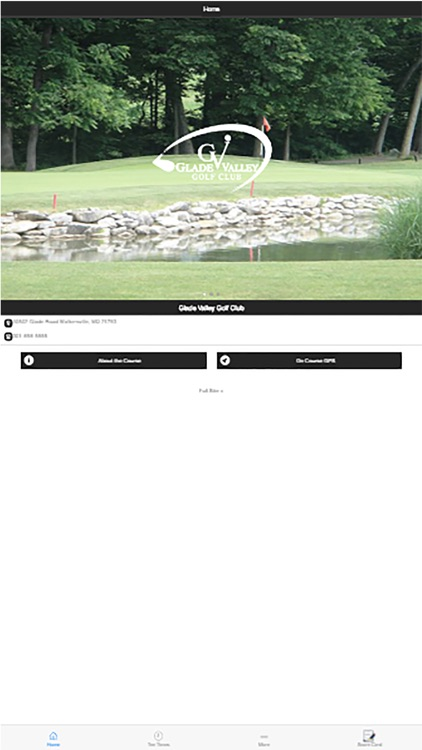 Glade Valley Golf Club by CourseTrends com