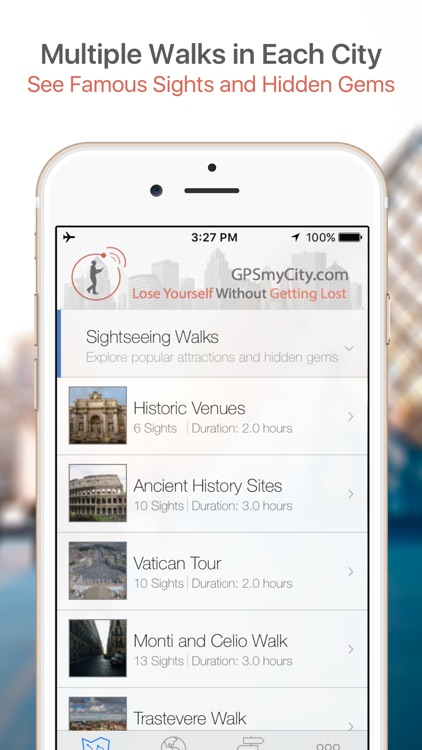 Florence Map and Walks screenshot-0