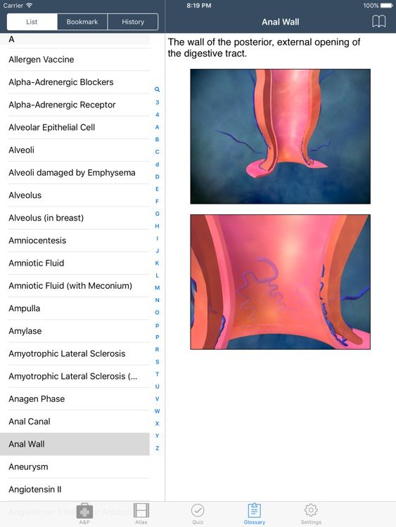 Fundamental of Anatomy and Physiology screenshot-3