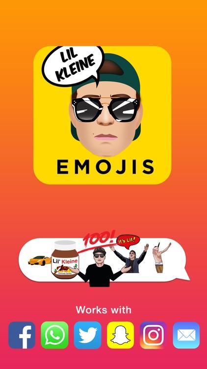 Lil Kleine Emojis Keyboard screenshot-3