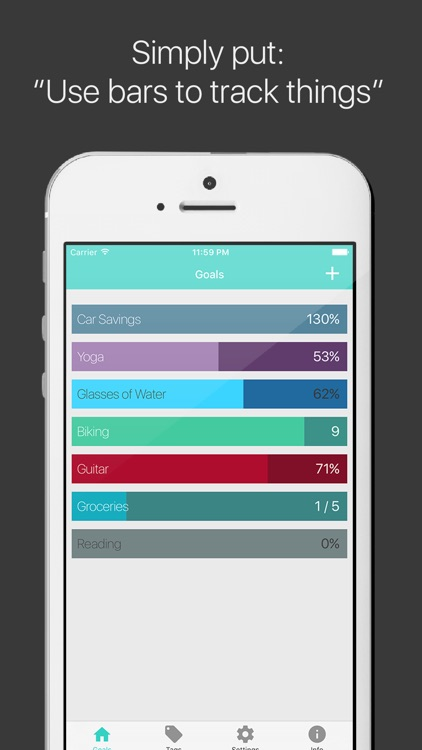 Raise The Bar - Goal Tracker & To-Do List Manager