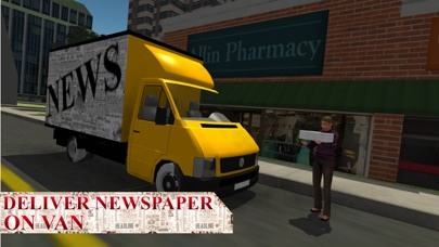 Newspaper Delivery Boy & bike ride game screenshot four