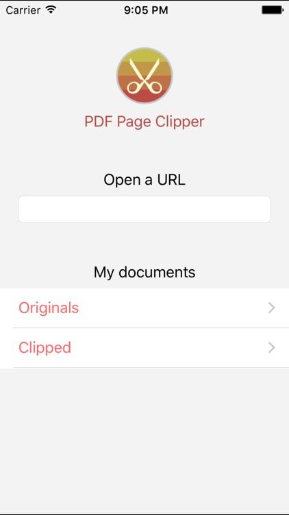 PDF Page Clipper