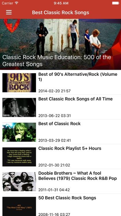 Classic Rock Pro - Songs, Radio & News screenshot-3